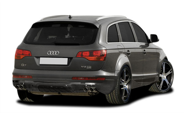 Couture 107016 | Audi Q7 Couture A-Tech Rear Add On Bumper Extensions 1-Piece; 2007-2008