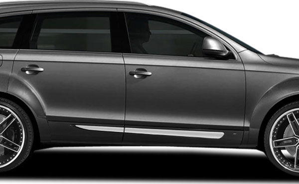 Couture 107015 | Audi Q7 Couture A-Tech Side Skirt Add On 4-Piece; 2007-2015
