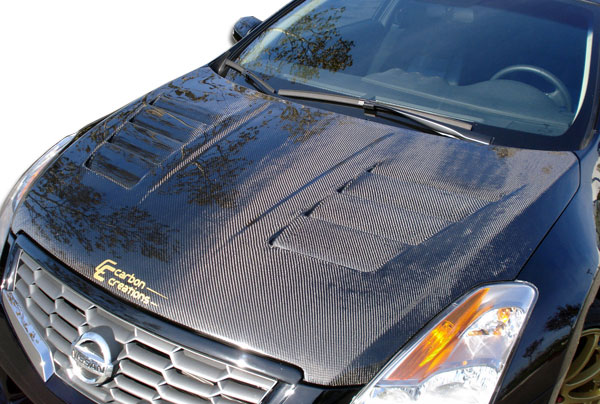Carbon Creations 104311 | Nissan Altima Carbon Creations GT Concept Hood 1-Piece; 2007-2009