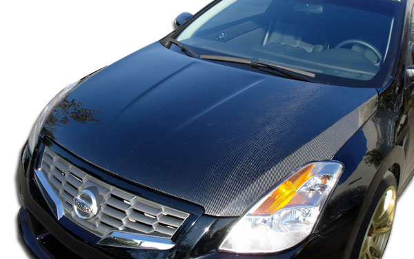 Carbon Creations 104343 | Nissan Altima Carbon Creations OEM Hood 1-Piece; 2007-2009