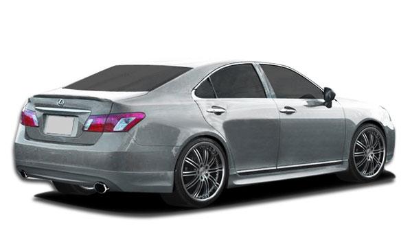 Couture 106939 | Lexus ES Series ES350 Couture VIP Rear Lip Under Spoiler Air Dam 1-Piece; 2007-2012