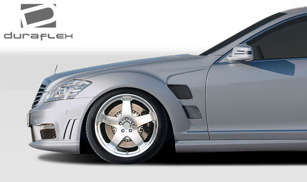 Duraflex 107788   Mercedes S Class W221 Duraflex LR-S Fenders 2-Piece; 2007-2013
