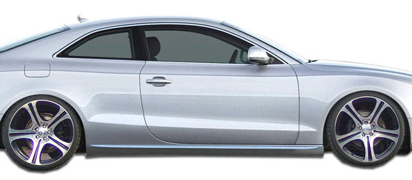 Duraflex (107522) 2008-2016 Audi A5 S5 2DR Convertible Duraflex S5 Look Side Skirts Rocker Panels - 2 Piece