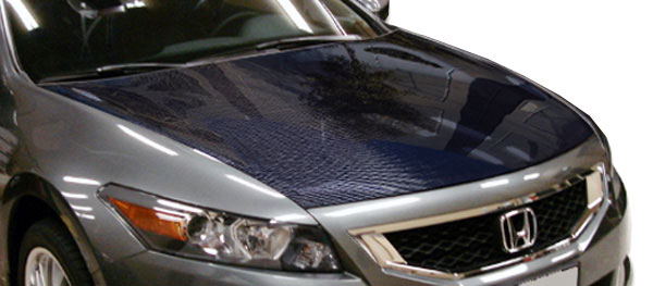 Carbon Creations 104755 | Honda Accord 2DR Carbon Creations OEM Hood 1-Piece; 2008-2012