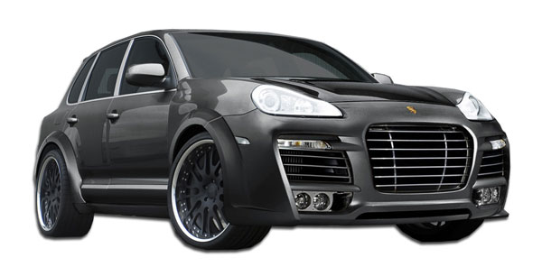 Aero Function 107579:  2003-2006 Porsche Cayenne AF-1 Wide Body Kit ( GFK CFP PUR-RIM ) - 12 Piece