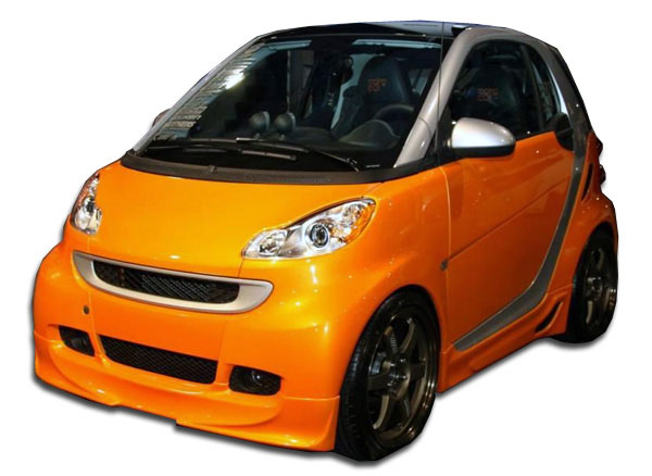 Duraflex (105670) 2008-2016 Smart ForTwo Duraflex FX Body Kit - 4 Piece