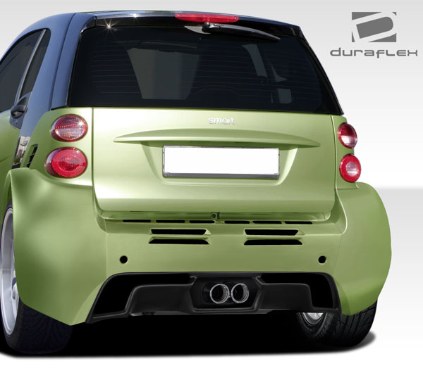 Duraflex 107845 | 2008-2016 Smart ForTwo Duraflex GT300 Wide Body Rear Bumper Cover - 1 Piece
