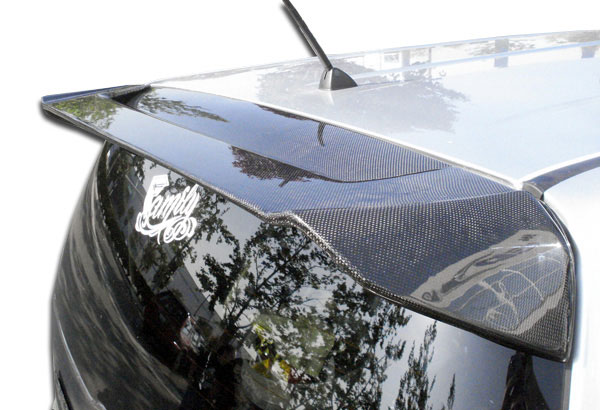 Carbon Creations 103874: 2008-2015 Scion xB Carbon Creations OEM Wing Trunk Lid Spoiler - 1 Piece