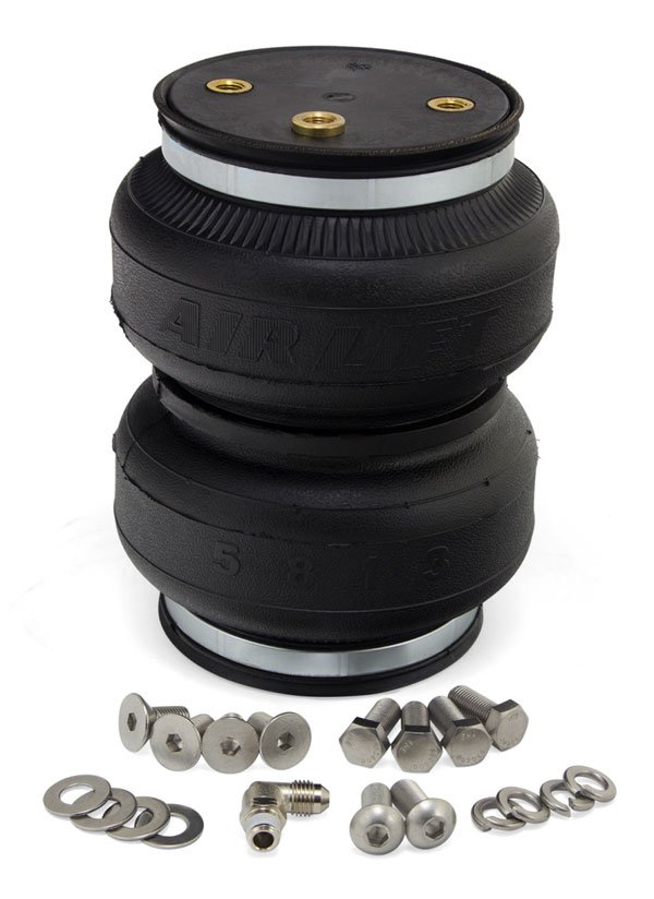 Air Lift 84301 | Replacement Air Springs - Loadlifter 5000 Ultimate Plus Bellows Type w/ Int Jounce Bumper