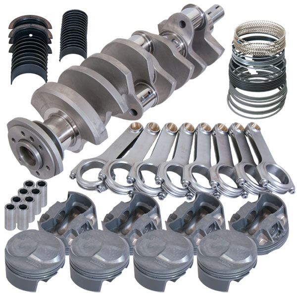 Eagle 11013060   Chevrolet Big Block 454 2-Pc Rotating Assembly Kit w/ 4.31in Bore 4.25in Stroke -43cc Dome