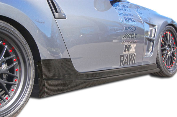 Carbon Creations 105906 | 2009-2016 Nissan 370Z Carbon Creations N-1 Side Skirts Rocker Panels - 2 Piece