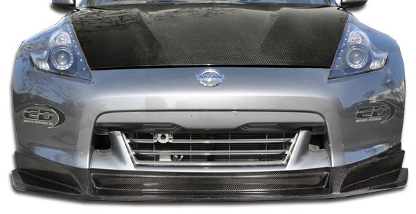Carbon Creations 105737: 2009-2012 Nissan 370Z Carbon Creations SL-R Front Lip Under Spoiler Air Dam - 1 Piece
