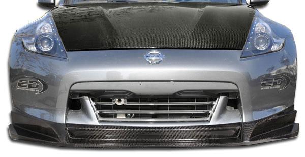 Carbon Creations 105737 | 2009-2012 Nissan 370Z Carbon Creations SL-R Front Lip Under Spoiler Air Dam - 1 Piece