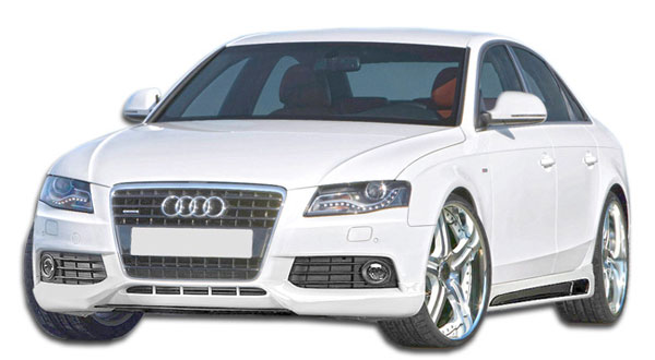 Extreme Dimensions 107419: 2009-2012 Audi A4 4DR Wagon R-1 Front Lip Under Spoiler Air Dam - 1 Piece
