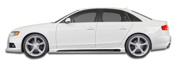Extreme Dimensions 107420:  2009-2016 Audi A4 S4 4DR Wagon R-1 Side Skirts Rocker Panels - 2 Piece