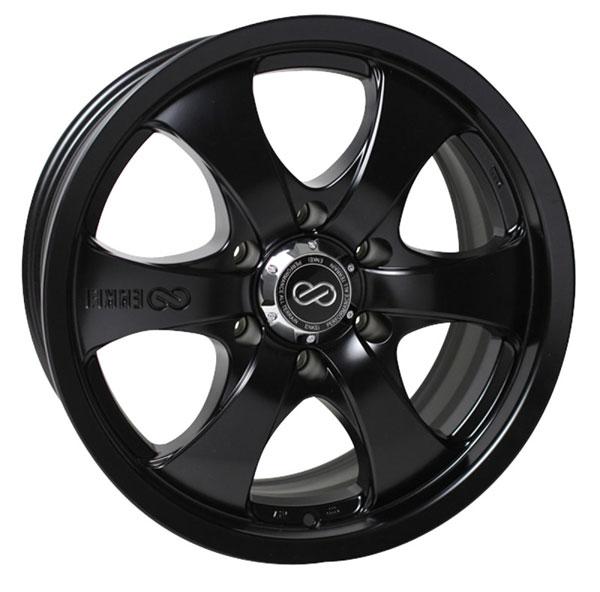 Enkei 482-780-8335bk | M6 Universal Truck & SUV 17x8 35mm Offset 6x139.7 Bolt Pattern 78mm Bore Black Wheel
