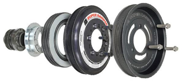 ATI ati918645 | Damper - 7.525in - Alum - 4 & 3 Grv - GM L86 6.2 V8