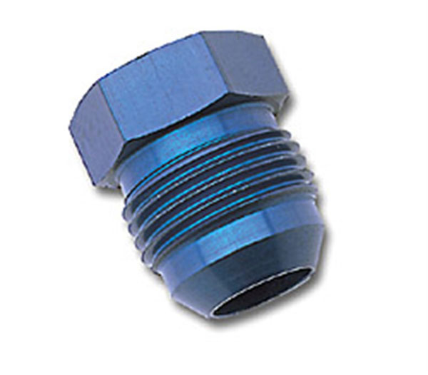 Russell 660190 | Performance -6 AN Flare Plug (Blue)
