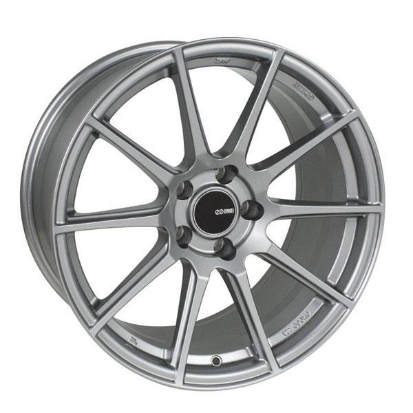 Enkei 499-790-8045gr | TS10 17x9 5x100 45mm Offset 72.6mm Bore Grey Wheel