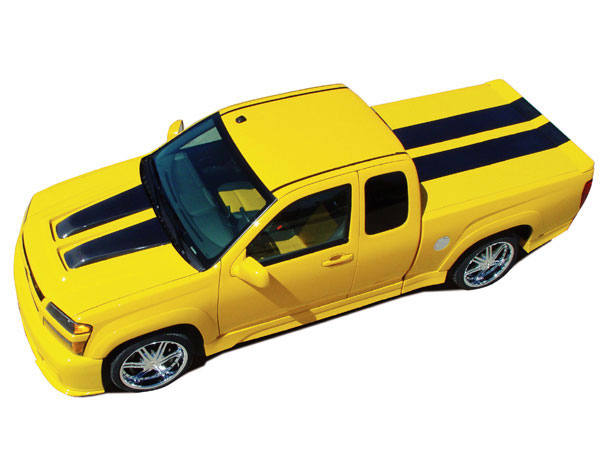 RKSport 10012000 | Colorado Extended Cab Body Kit; 2004-2012