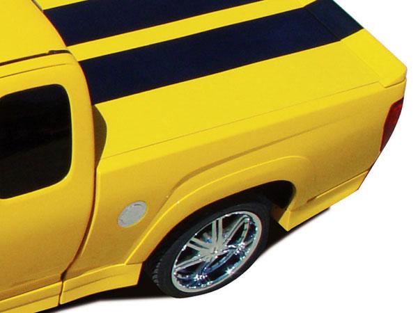 RKSport 10012005    Colorado Extended Cab Fender Flare Kit; 2004-2012