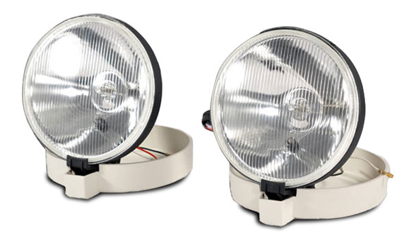 Extreme Dimensions 102654:  Evo Foglights (clear) Size: 7 1 / 4'''' round - 2 Piece