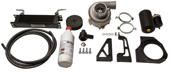 KraftWerks 150-05-0030k | Honda K-Series Race Supercharger Kit w/ 120mm Pulley (C30-94)