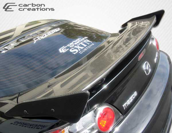 Carbon Creations 102949: Universal  Sniper Wing Trunk Lid Spoiler - 3 Piece