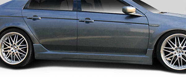 Duraflex 103522 | Acura TL Duraflex K-1 Side Skirts Rocker Panels 2-Piece; 2004-2008