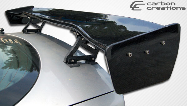Carbon Creations 105284 | Universal Carbon Creations GT Concept 2 Wing Trunk Lid Spoiler - 3 Piece; 1950-2016