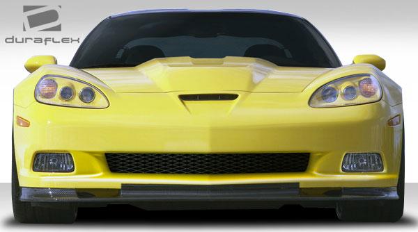 Duraflex 105766 | Chevrolet Corvette C6 Duraflex ZR Edition Front Bumper Cover 1-Piece; 2005-2013