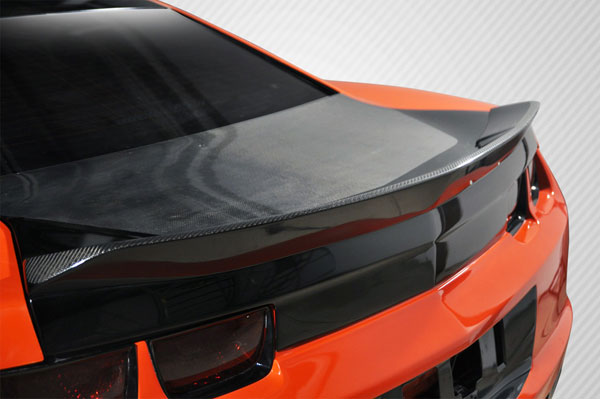 Carbon Creations 105822: 2010-2013 Chevrolet Camaro Carbon Creations Circuit Wing Trunk Lid Spoiler - 1 Piece
