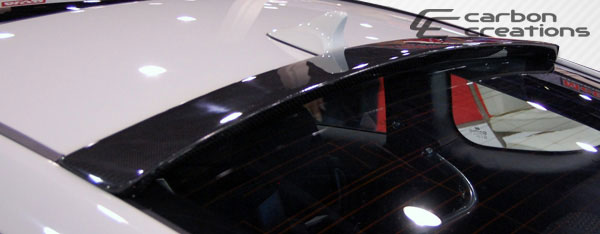 Carbon Creations 105835: 2010-2016 Hyundai Genesis 2DR Carbon Creations Circuit Roof Wing Spoiler - 1 Piece