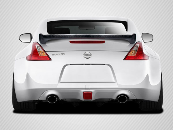Carbon Creations 105910: 2009-2016 Nissan 370Z Coupe  N-1 Wing Trunk Lid Spoiler - 1 Piece