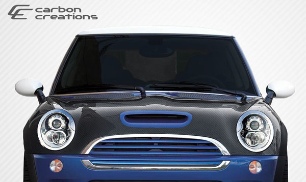 Carbon Creations 106323: 2002-2006 Mini Cooper S Carbon Creations OEM Hood - 1 Piece