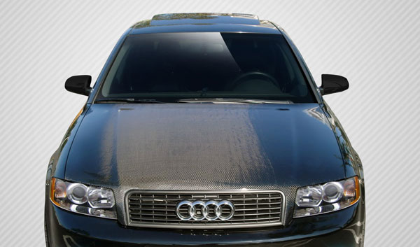 Carbon Creations 106679: 2002-2005 Audi A4 S4 2DR 4DR Wagon Carbon Creations OEM Hood - 1 Piece