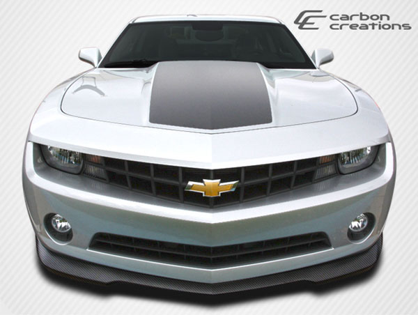 Carbon Creations 106814: 2010-2013 Chevrolet Camaro V6 Carbon Creations GM-X Front Lip Under Spoiler Air Dam - 1 Piece