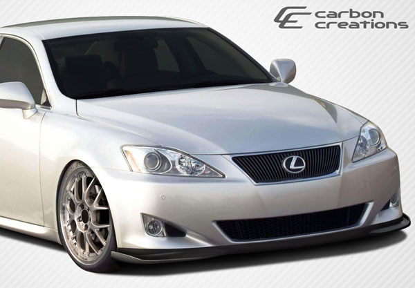 Carbon Creations 106842: 2006-2008 Lexus IS Series IS250 IS350 Carbon Creations VIP Front Lip Under Spoiler Air Dam - 1 Piece