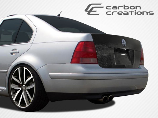 Carbon Creations 107030: 1999-2004 Volkswagen Jetta Carbon Creations OEM Trunk - 1 Piece