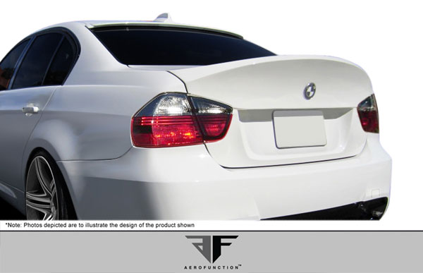 Aero Function 107375:  2006-2008 BMW 3 Series M3 E90 4DR AF-1 Trunk Lid ( GFK ) - 1 Piece