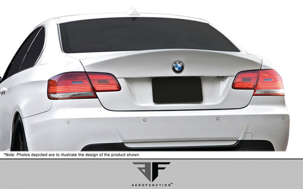 Aero Function 107381:  2007-2013 BMW 3 Series M3 E92 2DR AF-1 Trunk Spoiler ( GFK ) - 1 Piece