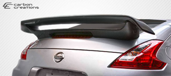 Carbon Creations 107412: 2009-2016 Nissan 370Z Coupe Carbon Creations N-2 Wing Trunk Lid Spoiler - 1 Piece