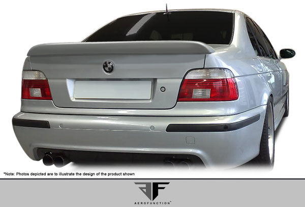 Aero Function 107415: 1997-2003 BMW 5 Series E39 4DR AF-1 Trunk Spoiler ( GFK ) - 1 Piece