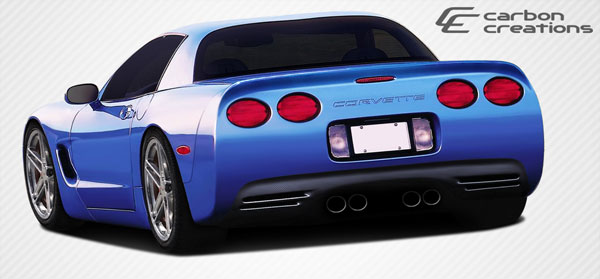 Carbon Creations 107479: 1997-2004 Chevrolet Corvette C5 Carbon Creations SP-R Rear Bumper Cover - 1 Piece