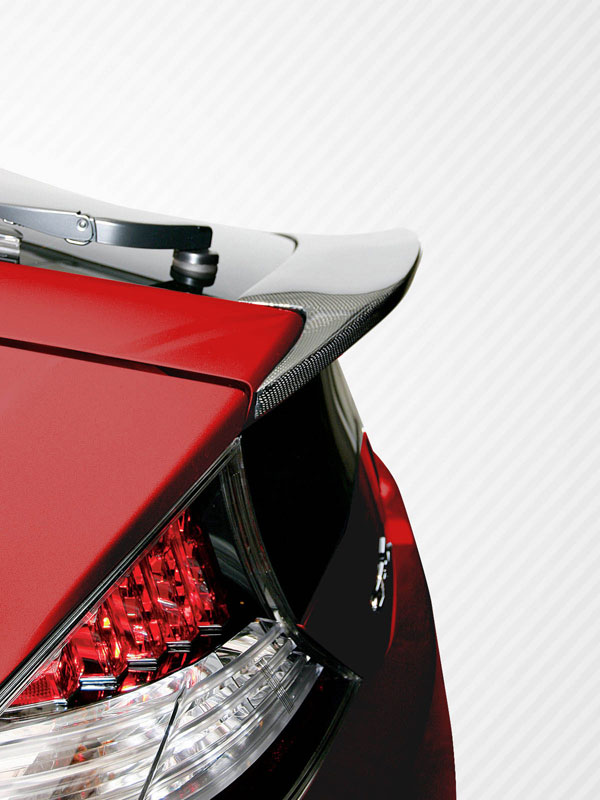 Carbon Creations 107591: 2011-2016 Honda CR-Z Carbon Creations JP Design Wing Trunk Lid Spoiler - 1 Piece