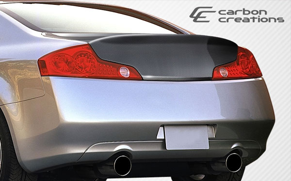 Carbon Creations 107630: 2003-2007 Infiniti G Coupe G35 Carbon Creations HD-R Trunk - 1 Piece