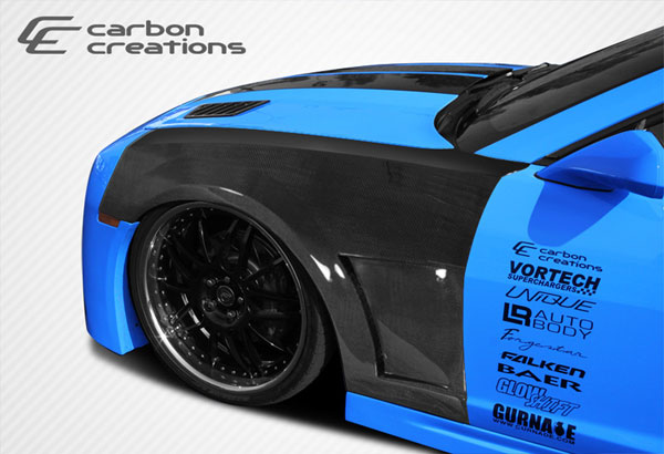 Carbon Creations 107644: 2010-2015 Chevrolet Camaro Carbon Creations Tjin Edition Fenders - 2 Piece