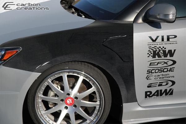Carbon Creations 107651 | 2011-2015 Scion tC Carbon Creations GT Concept Fenders - 2 Piece