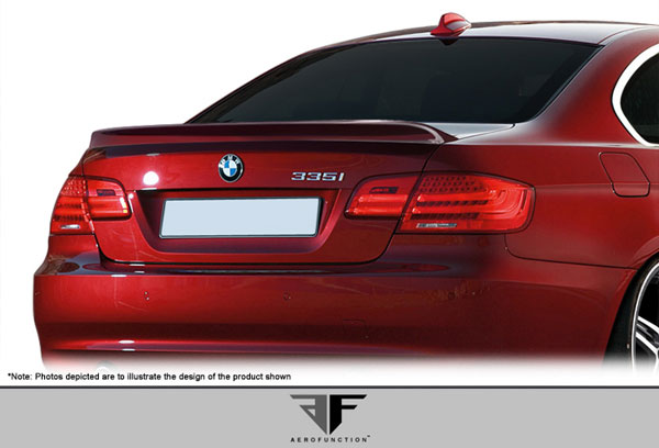 Aero Function 107896: 2007-2013 BMW 3 Series M3 E92 2DR AF-3 Trunk Spoiler ( GFK ) - 1 Piece