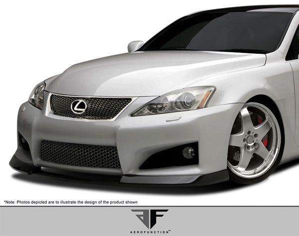 Aero Function 107906: 2008-2014 Lexus IS-F AF-1 Front Add On Spoiler ( GFK ) - 1 Piece
